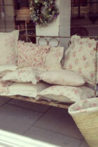 Peony & Sage Cushions in The Corner House Dorking