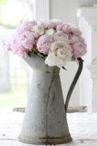 Faded Pink Peonies by Peony and Sage