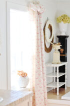 Rose Wreath Curtains by Peony and Sage2