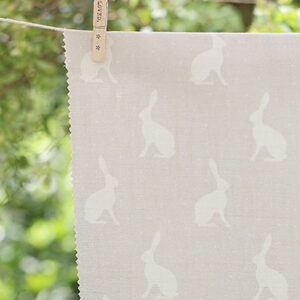 Mini Hares Gustavian Grey by Peony & Sage