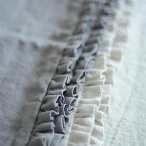 Silver Birch Chunky Stonewashed Linen - Peony & Sage