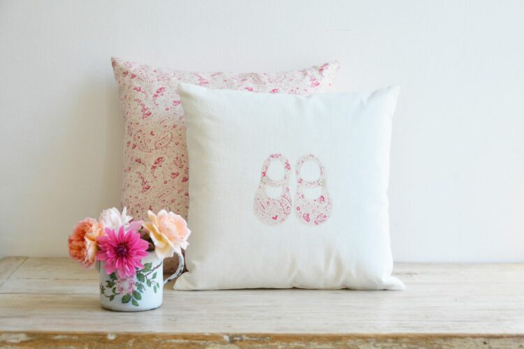 """Little Feet"" cushions"