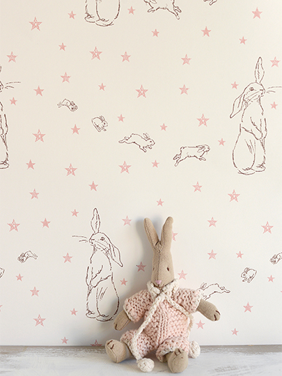 Rabbit All Star Pink