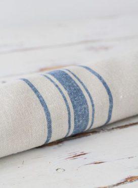 Danish Stripe Ink Blue by Peony & Sage