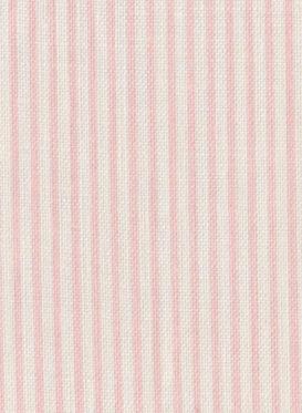 Skinny Pinstripe Antique Powder Pink by Peony & Sage