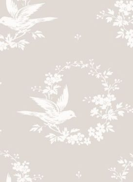 Small Birdsong Gustavian Grey by Peony and Sage