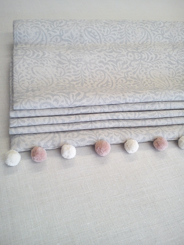 India Fog Roman Blinds Handmade In Our Workshop Peony Amp Sage