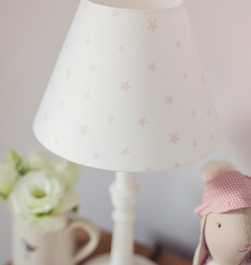 Pale Pink Icing On White Linen Union