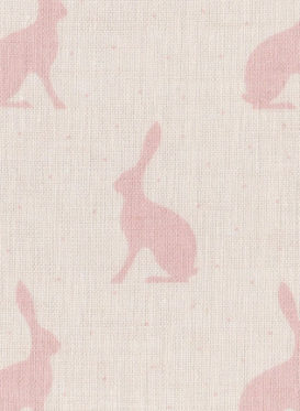 mini hares pink icing on ivory 001