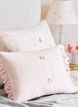 Lydia Powder Pink Cushion
