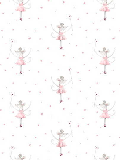 Mrs mouse loves ballet wallpaper peony sage mrs mouse loves ballet wallpaper voltagebd