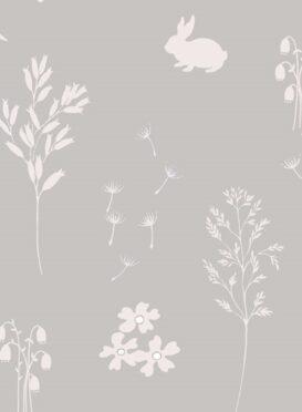 Summertime Wallpaper in Powder