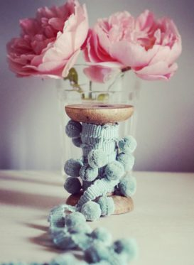 Tiddly Seaglass Pom Poms by Peony and Sage