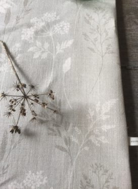 "Wild Grasses and Cow Parsley in Colourway ""Wood"""