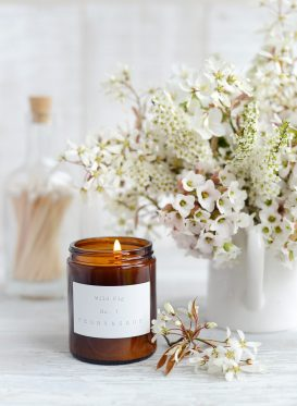 Peony and Sage Candles