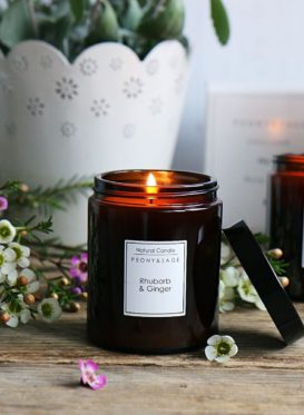 Rhubarb and Ginger by Peony & Sage
