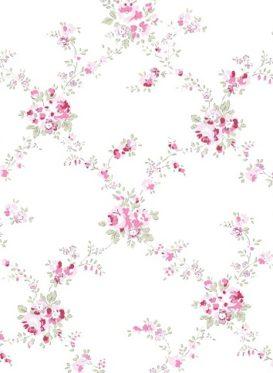 Giardino Rosa by Peony and Sage Wallpaper