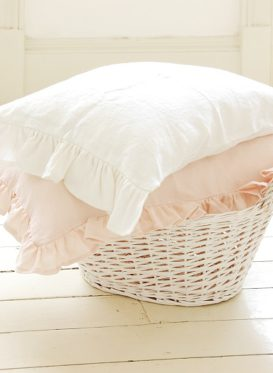 Frilly floppy pillow cases and cushions