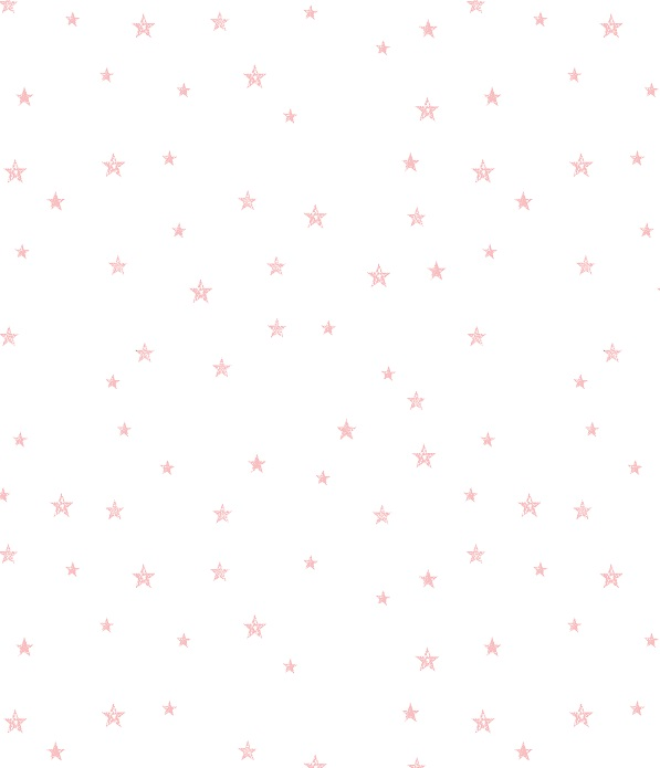 pink star wallpaper  Tiny Stars Pink from Rabbit All Star Wallpaper on White - Peony