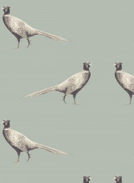 Country Pheasant Grey Green